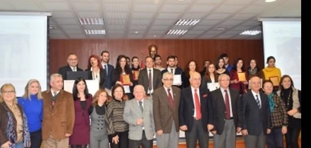 TOVAK Prof. Dr. Yahya Özsoy Toplum Hizmetleri 2015 Ödülleri verildi