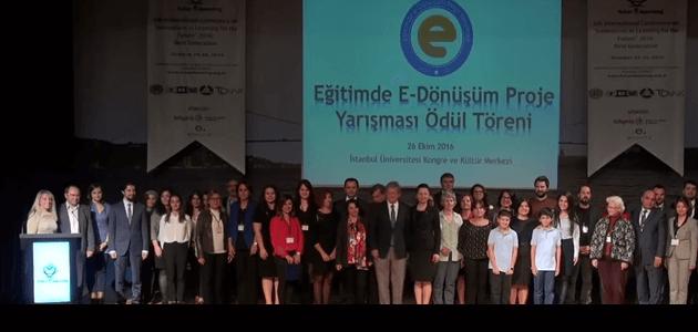 Eğitimde E-Dönüşüm Proje Yarışması 2016 Sonuçları