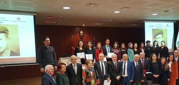 2017 Prof. Dr. Yahya Özsoy Toplum Hizmetleri Ödülleri sahiplerini buldu