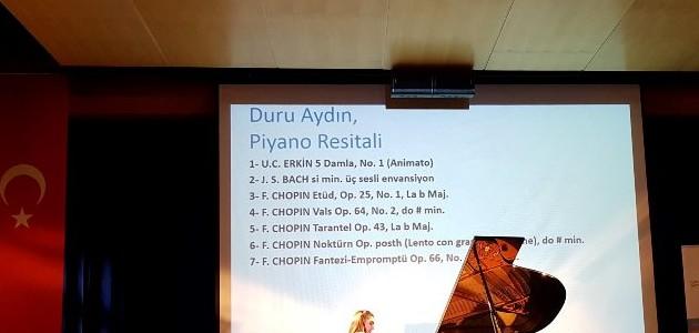 """TOVAK Chopin Uluslararası Akademisi  """"Chopin Türkiye'de"""" Projesi Kapsamında Bir Piyano Resitali Düzenledi"""