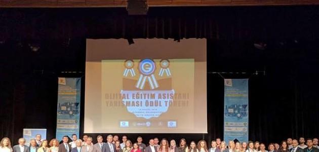 Dijital Eğitim Asistanı Yarışması Ödülleri Sahiplerini Buldu
