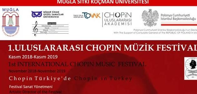 TOVAK Uluslararası Chopin Akademisi 1. Uluslararası Müzik Festivali açılış konseri başarı ile gerçekleştirildi