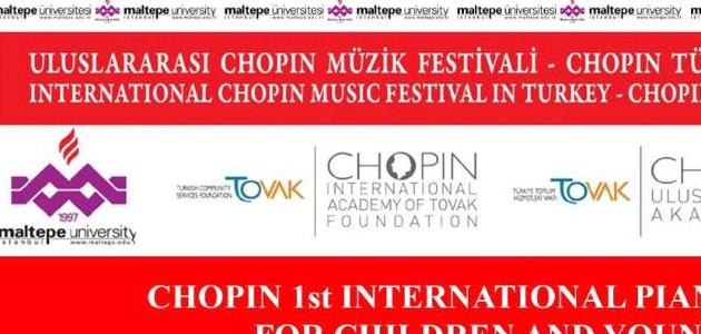 CHOPIN 1.Uluslararası Piyano Yarışması Çocuklar ve Genç Piyanistler için