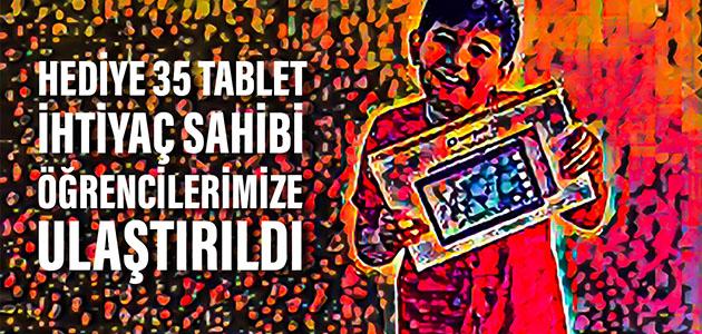 Turkish Society of Canada'dan Tablet Desteği