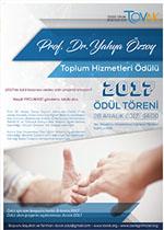 2017 Prof. Dr. Yahya Özsoy Ödülü